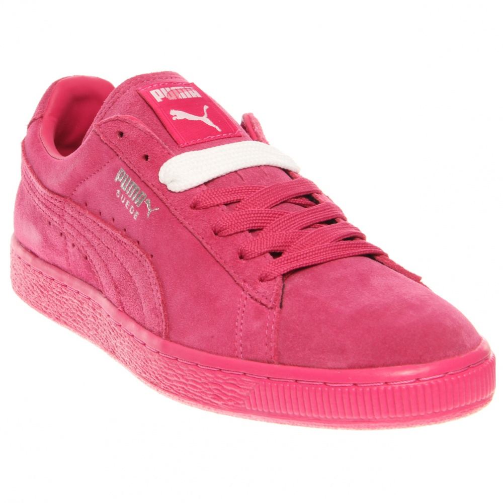 puma suede classic pink retro basketball shoes and free. Black Bedroom Furniture Sets. Home Design Ideas
