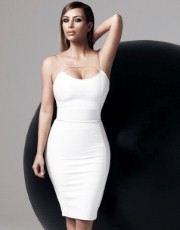 Kardashian Bodycon Midi Dress - Lipsy