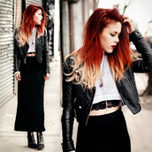 blouse,cropped jumper,jumper,white jumper,open ribs black maxi dress,dress