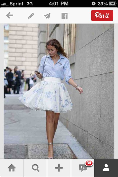 skirt fashion week tulle skirt new york city