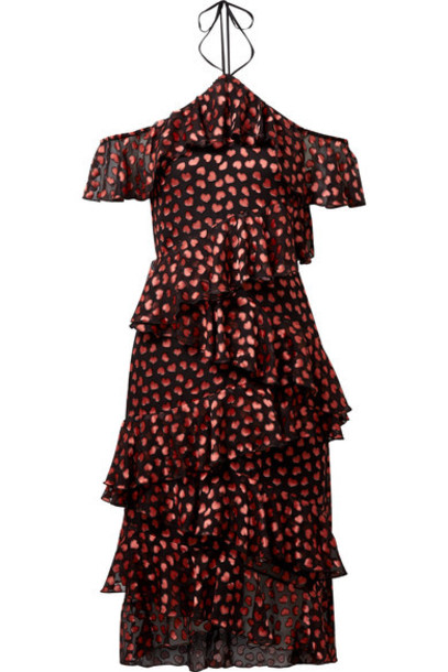 dress chiffon dress chiffon black
