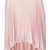 Pink Shimmer Pleated Skirt - Topshop