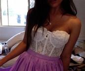 underwear,cream,crop,top,lace,bralette,bustier,white,crop tops,skirt,shirt