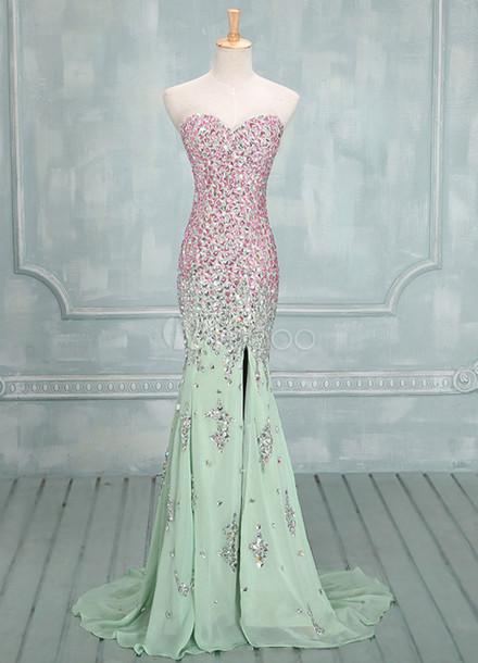 150 Pink Mint Dress Available At Etsycom Wheretoget