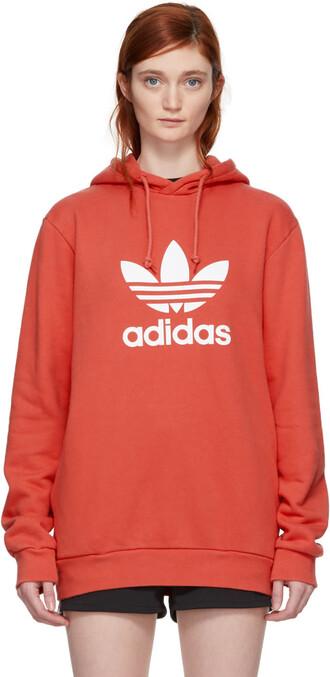 hoodie orange sweater