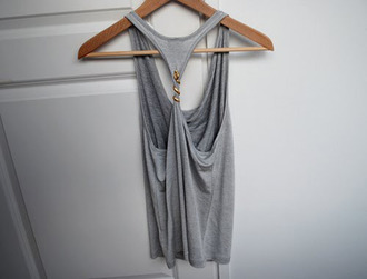 tank top snake grey grey tank top jewels