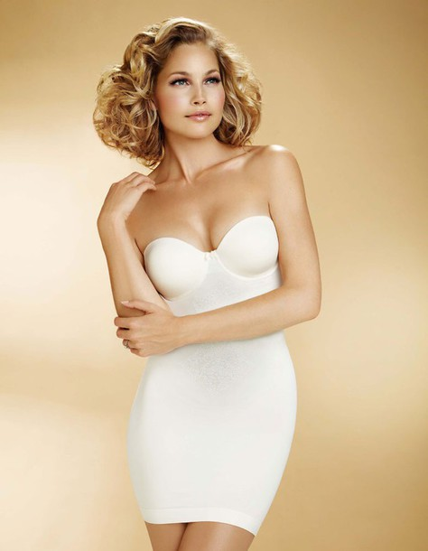 underwear white slip body shaper