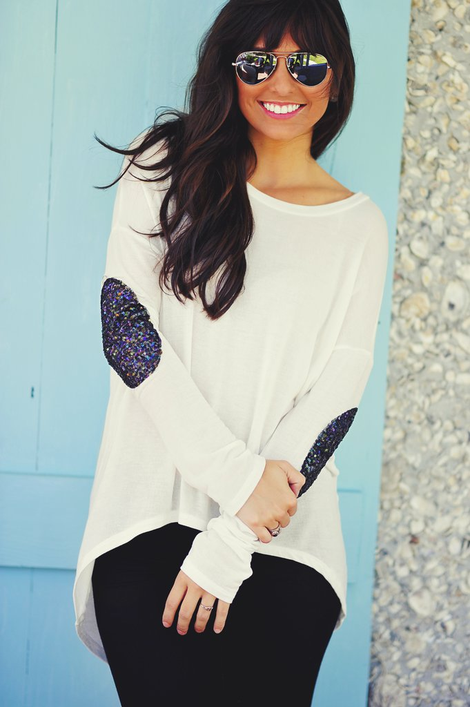 karolina04's save of Hide And Seek Sweater: White | Hope's on Wanelo