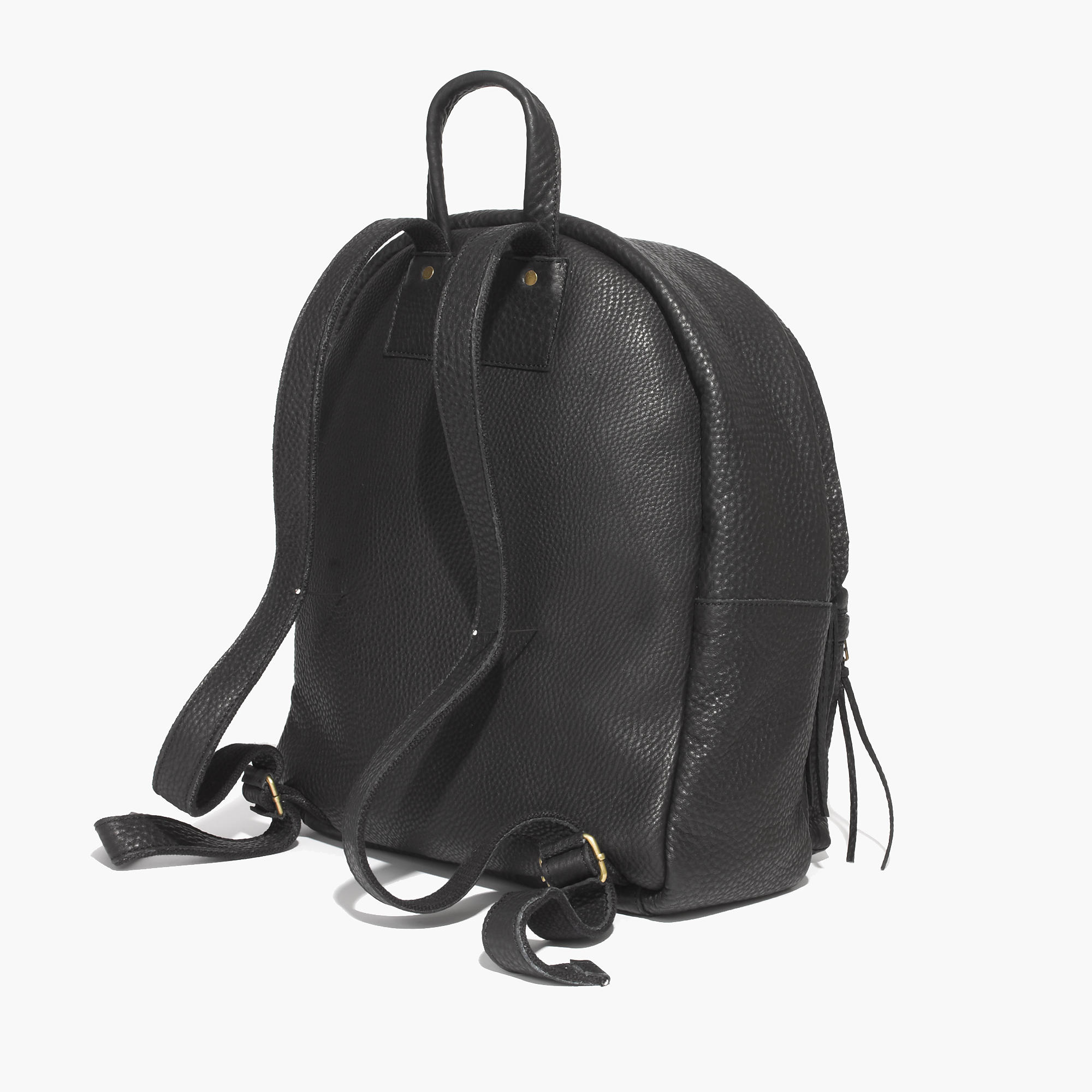 The lorimer leather backpack