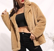 coat,girl,girly,girly wishlist,trendy,brown,fur,fur coat,fur jacket,teddy jacket,teddy bear coat