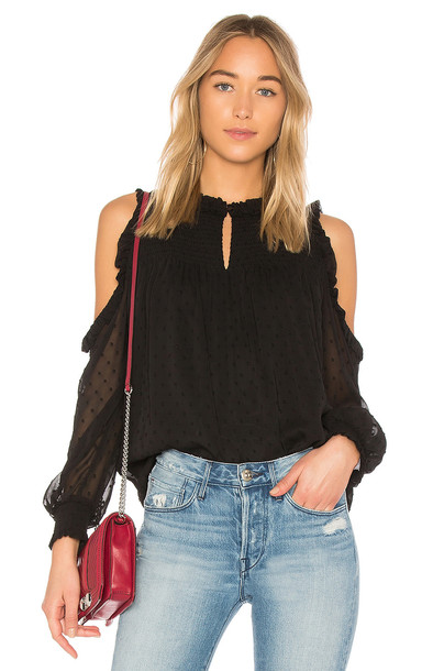 Sanctuary blouse black top