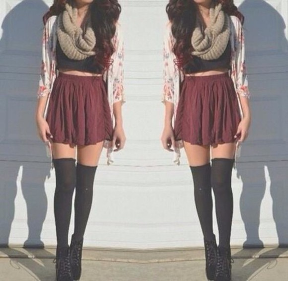 tights scarf