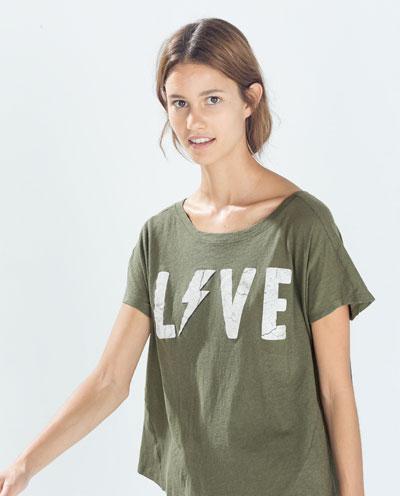 T - Shirts - TRF | ZARA United States