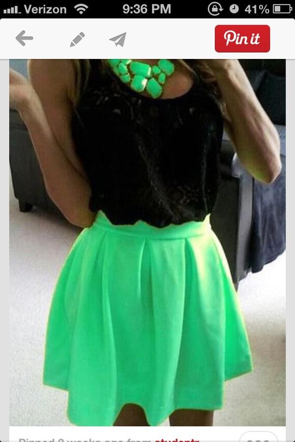 skirt mint