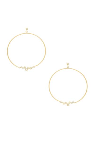joolz by Martha Calvo earrings metallic gold jewels