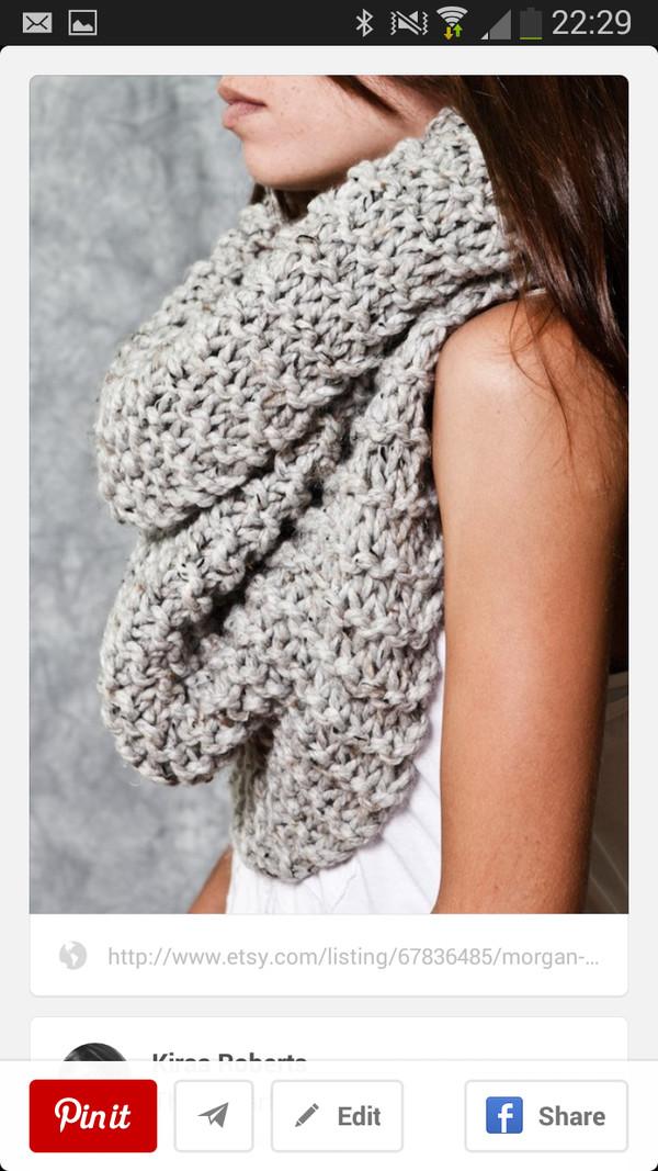 scarf woolen