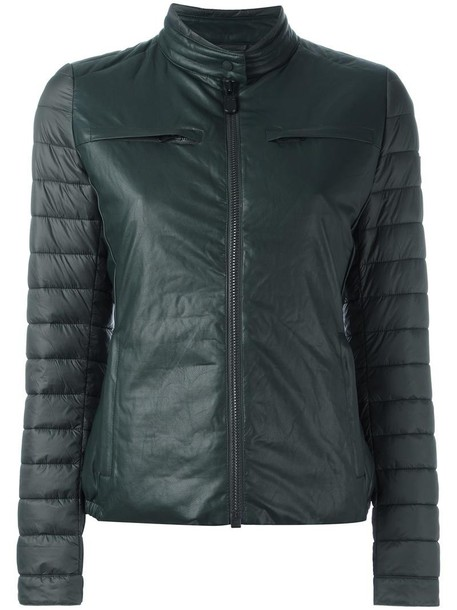 Save The Duck jacket women green