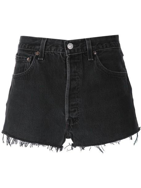 shorts denim shorts denim women cotton black