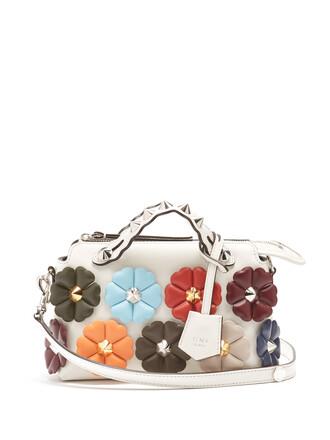 cross mini bag leather white