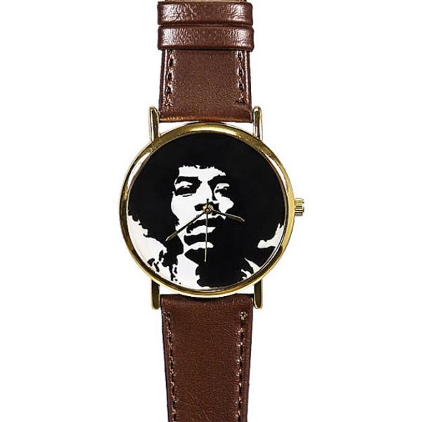 jewels jimi hendrix freeform freeforme watch style silhouette watch freeforme watch leather watch womens watch mens watch unisex