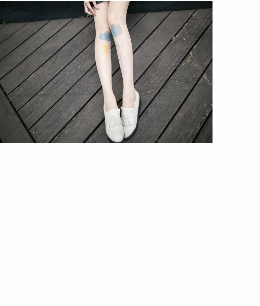 Sale~!!Cloud Pattern Pantyhose Stocking Tights Legging!! from Mixty on Storenvy