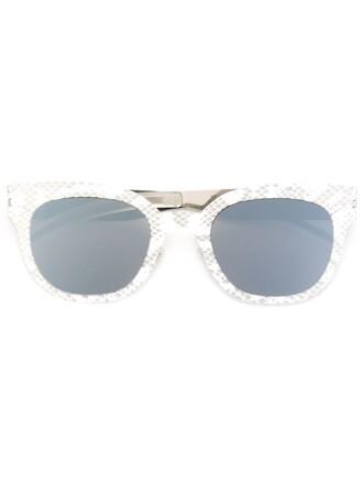 women sunglasses white