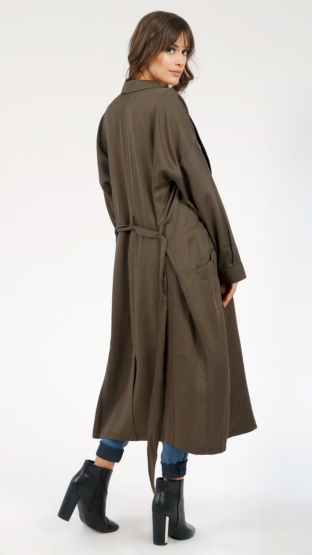 Boss Girl Trench Coat