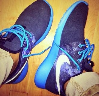 nike shoes galaxy print nike roshe run