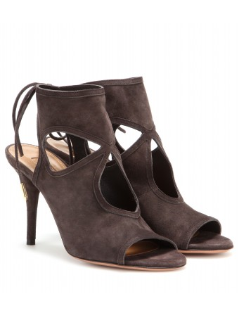 mytheresa.com - Sexy Thing suede sandals - Mid heel - Sandals - Shoes - Luxury Fashion for Women / Designer clothing, shoes, bags