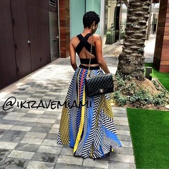 dress gypsy maxi skirt maxi skirt multicolor