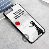 top,quote on it,balloon,banksy,iphone case,phone cover,iphone x case,iphone 8 case,iphone7case,iphone7,iphone 6 case,iphone6,iphone 5 case,iphone 4 case,iphone4case