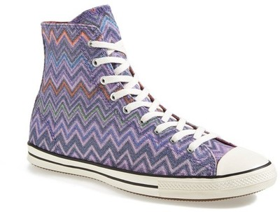 Converse x Missoni Chuck Taylor® All Star® High Top Sneaker (Women)
