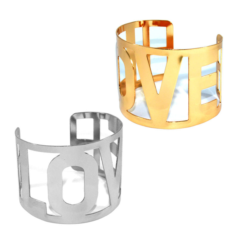 HOLLOW LOVE BANGLE - Rings & Tings | Online fashion store | Shop the latest trends