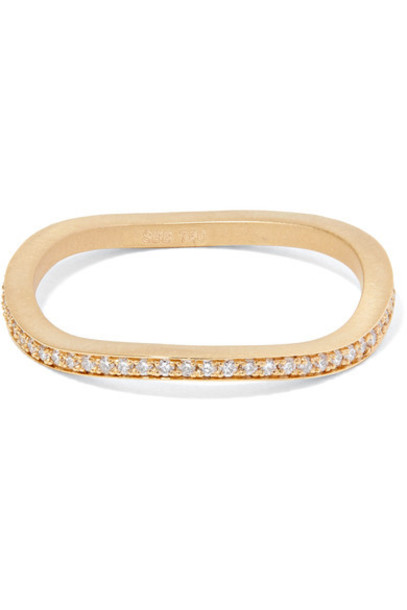 diamond ring ocean ring gold jewels