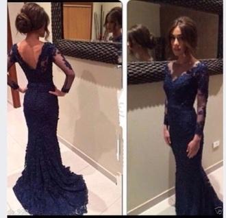 dress lace dress prom dress prom gown long dress