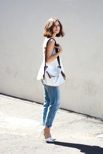 take aim blogger underwear top jeans bag shoes jewels
