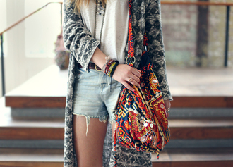 bag triba crossbody bad aztec tribal pattern aztec short