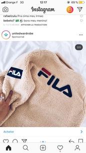 sweater,fila