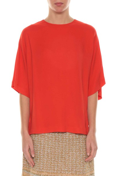 M Missoni blouse short top