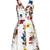 Carmel Flora-print cotton-canvas dress
