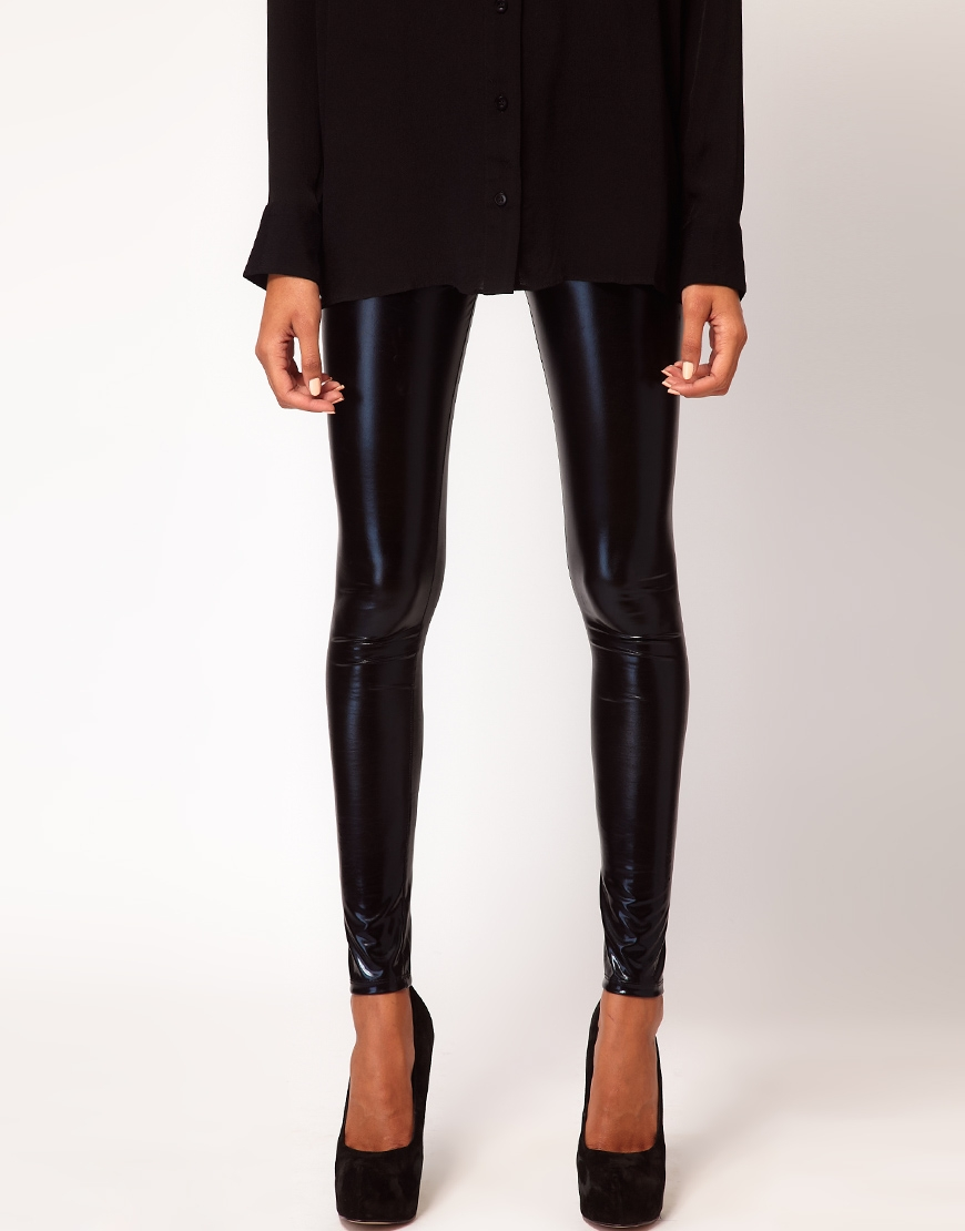 ASOS Ultra Wet Look Leggings at asos.com