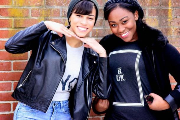immaturely fashionable blogger t-shirt black t-shirt white t-shirt graphic tee leather jacket