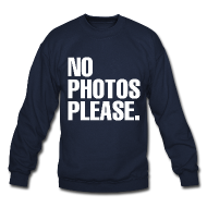 NO PHOTOS PLEASE. SWEATER | starholic
