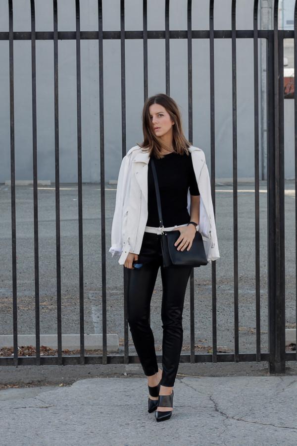 take aim blogger jacket sunglasses bag