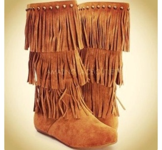 shoes brown boots indian boots indie wild leather