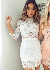 dress,white,white dress,top,skirt,bodycon dress,bodycon,graduation dress,outfit,lace dress,long sleeves,long sleeve dress,crochet,crochet dress,floral,floral dress,lace,white lace dress,mini dress,party dress,sexy party dresses,sexy dress,party outfits,sexy outfit,summer dress,summer outfits,spring dress,spring outfits,classy dress,elegant dress,cocktail dress,cute dress,girly dress,date outfit,birthday dress,clubwear,club dress,graduation ress,prom dress,homecoming,homecoming dress,wedding guest,wedding clothes,engagement party dress,romantic dress,romantic summer dress,pool party,dope