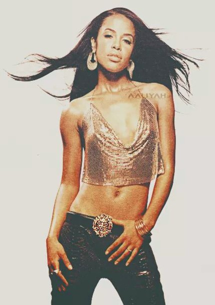 blouse Aaliyah Dana Haughton