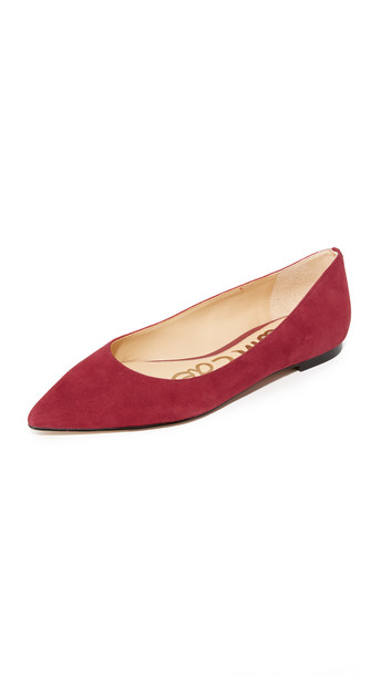e929125b3 Sam Edelman Rae Flats - Tango Red - Wheretoget