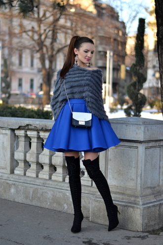 my silk fairytale blogger skirt shoes bag gloves jewels