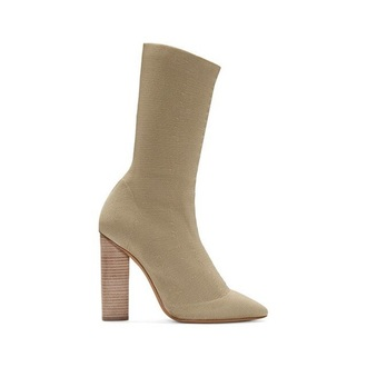 shoes boots ankle boots tight nude suede